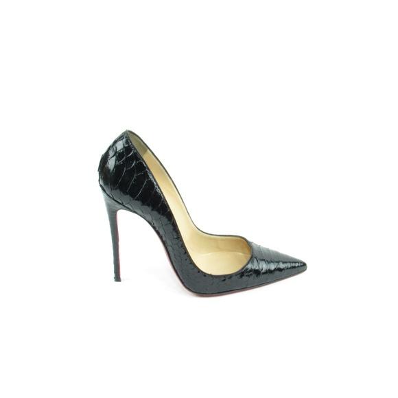 18c0826b5d29 Christian Louboutin Shoes - So Kate Black Python Pumps (EUR 37.5)